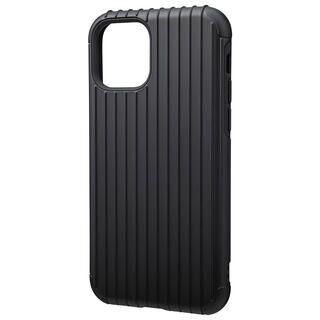 iPhone 11 Pro ケース GRAMAS COLORS Rib ハイブリッドシェルケース ブラック iPhone 11 Pro