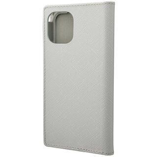 iPhone 11 Pro ケース GRAMAS COLORS EURO Passione PUレザー手帳型ケース グレイ iPhone 11 Pro