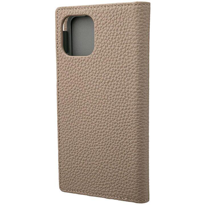 iPhone 11 Pro ケース GRAMAS Shrunken-calf レザー手帳型ケース トープ iPhone 11 Pro_0