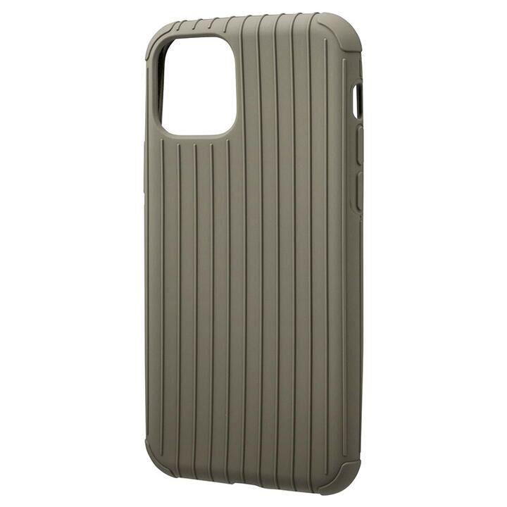 iPhone 11 Pro ケース GRAMAS COLORS Rib Light 耐衝撃TPUケース カーキ iPhone 11 Pro_0