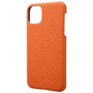 iPhone 11 Pro Max ケース GRAMAS Shrunken-calf レザー背面ケース オレンジ iPhone 11 Pro Max