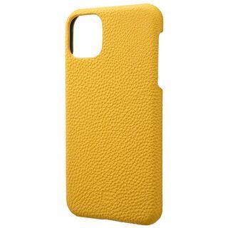 iPhone 11 Pro Max ケース GRAMAS Shrunken-calf レザー背面ケース イエロー iPhone 11 Pro Max