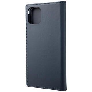 iPhone 11 Pro Max ケース GRAMAS Genuine Leather 手帳型ケース ネイビー iPhone 11 Pro Max