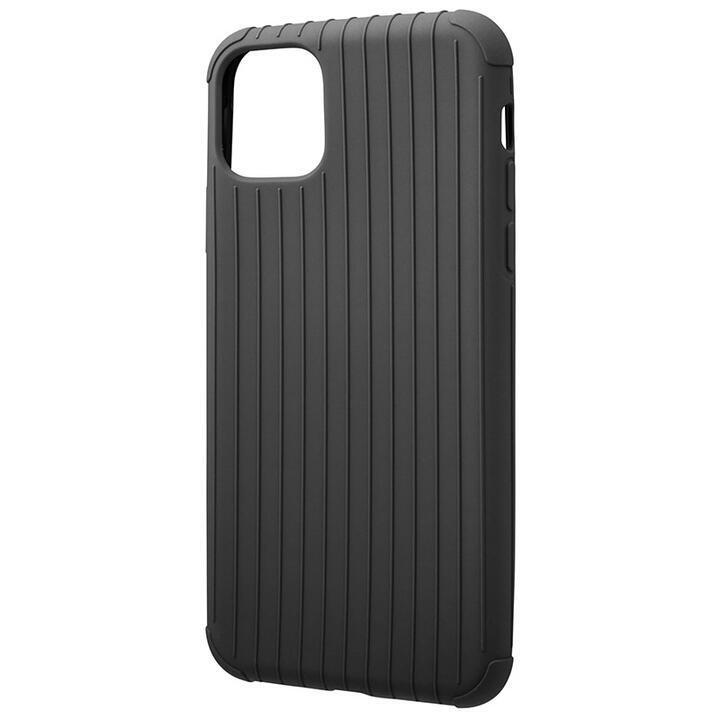 iPhone 11 Pro Max ケース GRAMAS COLORS Rib Light 耐衝撃TPUケース ブラック iPhone 11 Pro Max_0