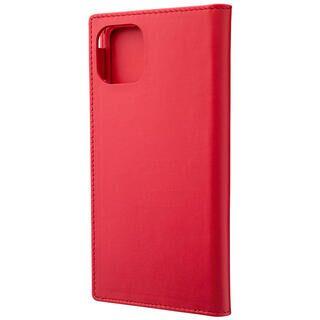 iPhone 11 Pro Max ケース GRAMAS Genuine Leather 手帳型ケース レッド iPhone 11 Pro Max