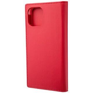 iPhone 11 Pro ケース GRAMAS Genuine Leather 手帳型ケース レッド iPhone 11 Pro