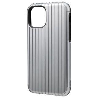 iPhone 11 Pro ケース GRAMAS COLORS Rib ハイブリッドシェルケース グレイ iPhone 11 Pro【10月上旬】