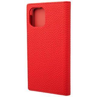 iPhone 11 Pro ケース GRAMAS Shrunken-calf レザー手帳型ケース レッド iPhone 11 Pro