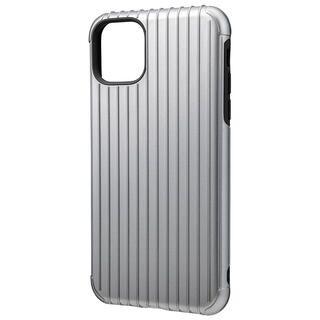 iPhone 11 Pro Max ケース GRAMAS COLORS Rib ハイブリッドシェルケース グレイ iPhone 11 Pro Max