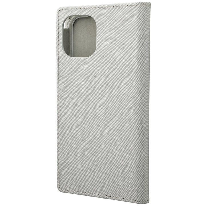 iPhone 11 Pro ケース GRAMAS COLORS EURO Passione PUレザー手帳型ケース グレイ iPhone 11 Pro_0