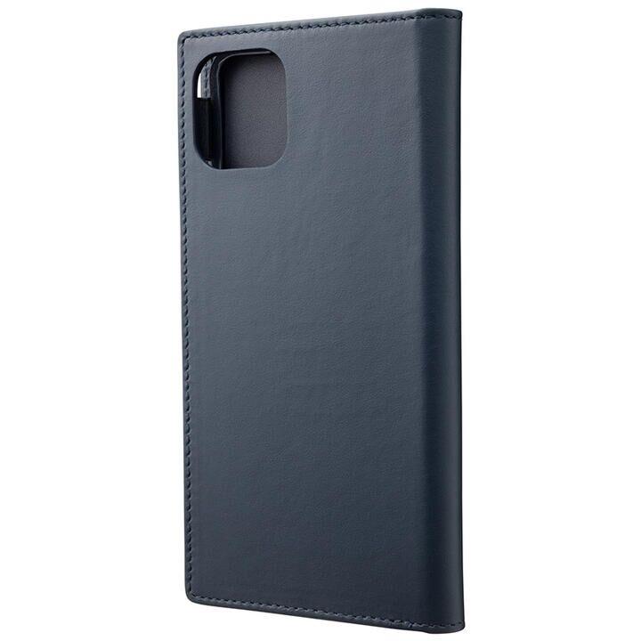 iPhone 11 Pro Max ケース GRAMAS Genuine Leather 手帳型ケース ネイビー iPhone 11 Pro Max_0