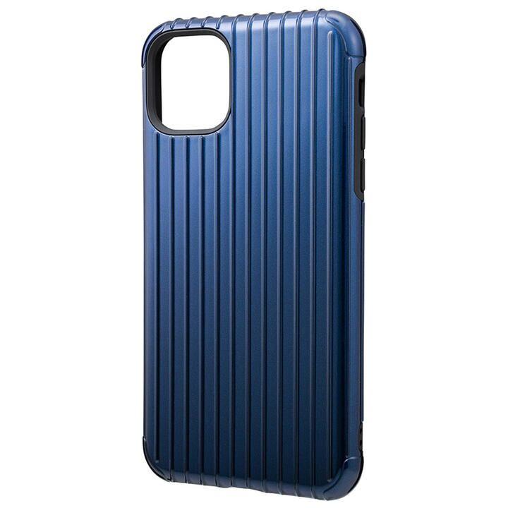 iPhone 11 Pro Max ケース GRAMAS COLORS Rib ハイブリッドシェルケース ネイビー iPhone 11 Pro Max_0