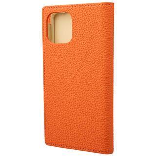 iPhone 11 Pro ケース GRAMAS Shrunken-calf レザー手帳型ケース オレンジ iPhone 11 Pro