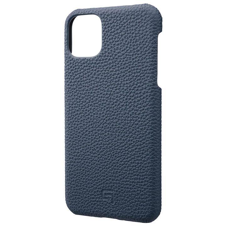 iPhone 11 Pro Max ケース GRAMAS Shrunken-calf レザー背面ケース ネイビー iPhone 11 Pro Max_0