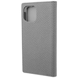 iPhone 11 Pro ケース GRAMAS Shrunken-calf レザー手帳型ケース ブラック iPhone 11 Pro