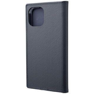 iPhone 11 Pro ケース GRAMAS COLORS EURO Passione PUレザー手帳型ケース ネイビー iPhone 11 Pro