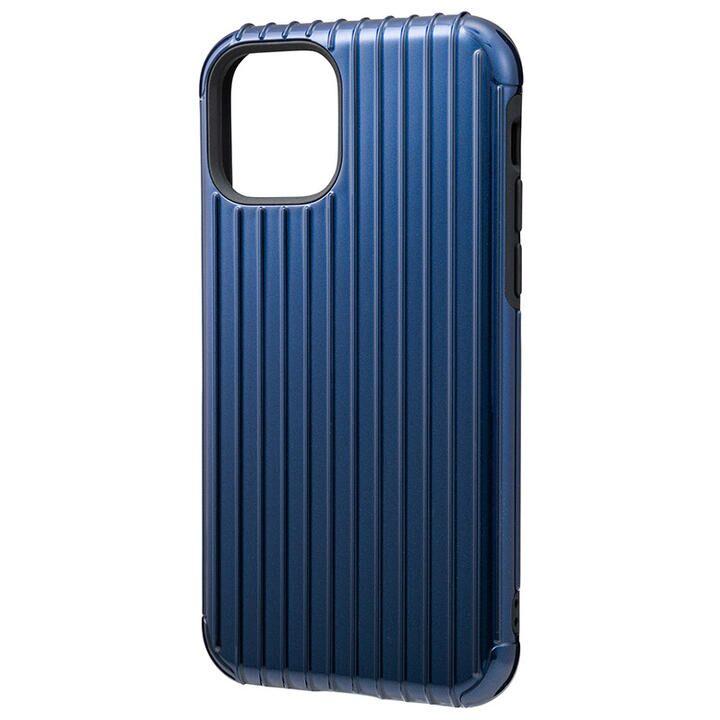 iPhone 11 Pro ケース GRAMAS COLORS Rib ハイブリッドシェルケース ネイビー iPhone 11 Pro_0