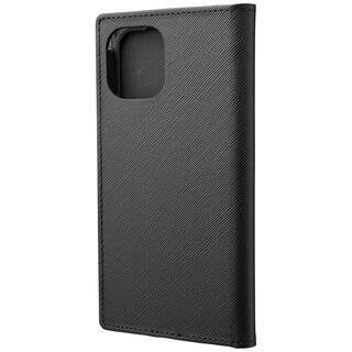 iPhone 11 Pro ケース GRAMAS COLORS EURO Passione PUレザー手帳型ケース ブラック iPhone 11 Pro