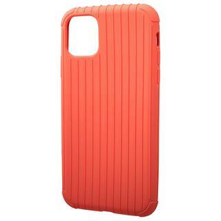 iPhone 11 ケース GRAMAS COLORS Rib Light 耐衝撃TPUケース オレンジ iPhone 11
