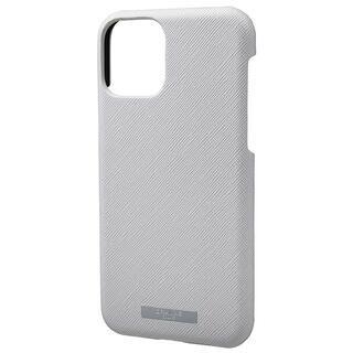 iPhone 11 Pro ケース GRAMAS COLORS EURO Passione シェル型PUレザーケース グレイ iPhone 11 Pro