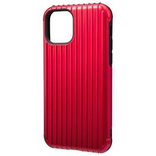 iPhone 11 Pro ケース GRAMAS COLORS Rib ハイブリッドシェルケース レッド iPhone 11 Pro