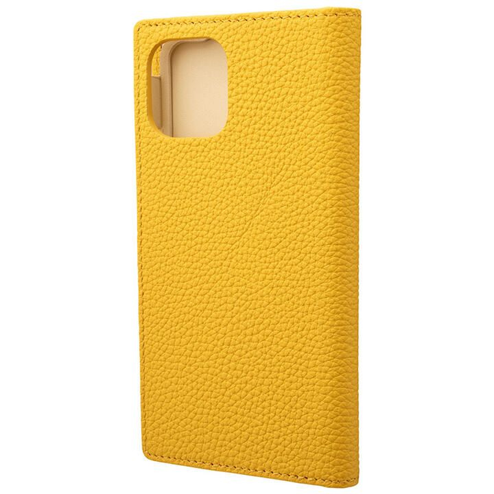 iPhone 11 Pro ケース GRAMAS Shrunken-calf レザー手帳型ケース イエロー iPhone 11 Pro_0