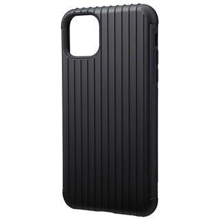 iPhone 11 Pro Max ケース GRAMAS COLORS Rib ハイブリッドシェルケース ブラック iPhone 11 Pro Max