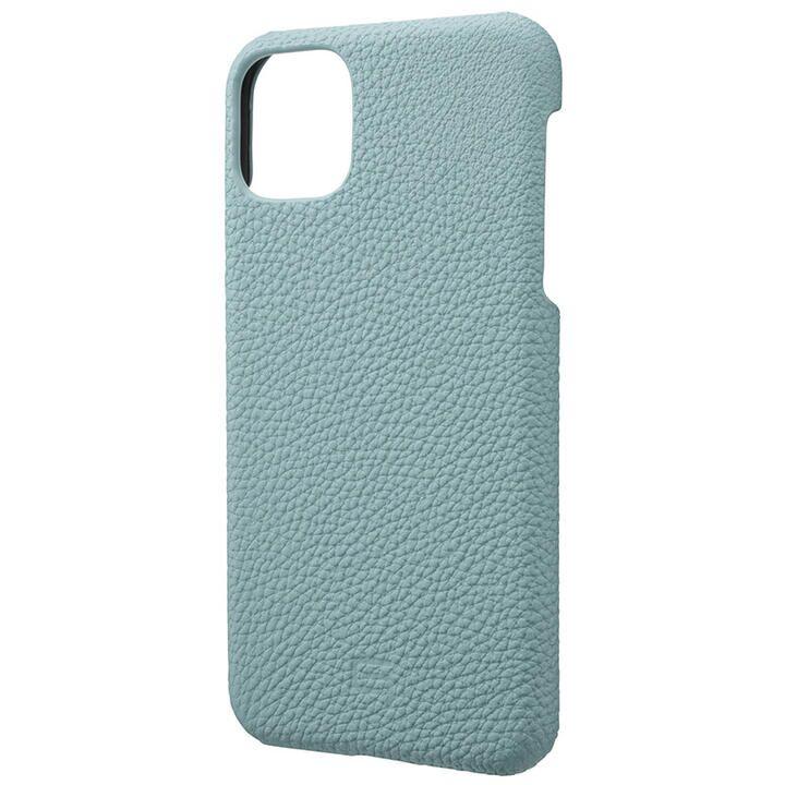 iPhone 11 Pro Max ケース GRAMAS Shrunken-calf レザー背面ケース ベイビーブルー iPhone 11 Pro Max_0