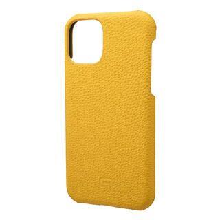 iPhone 11 Pro ケース GRAMAS Shrunken-calf レザー背面ケース イエロー iPhone 11 Pro