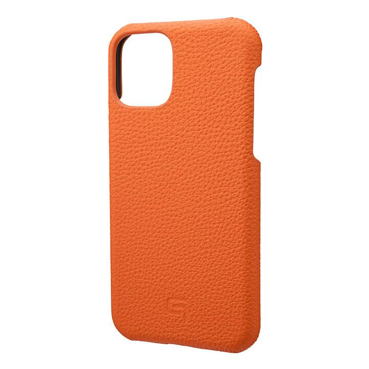 iPhone 11 Pro ケース GRAMAS Shrunken-calf レザー背面ケース オレンジ iPhone 11 Pro_0