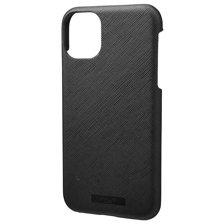 iPhone 11 ケース GRAMAS COLORS EURO Passione シェル型PUレザーケース ブラック iPhone 11_0