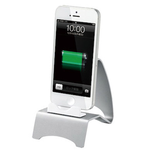 Simple Stand  iPhone 5 シルバー