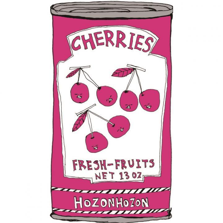 何度でも貼って剥がせる液晶クリーナー SCREEN CREANERS (cherry)_0