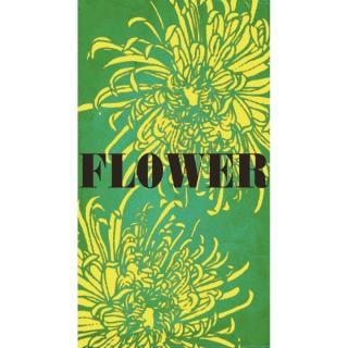 何度でも貼って剥がせる液晶クリーナー SCREEN CREANERS (flower)