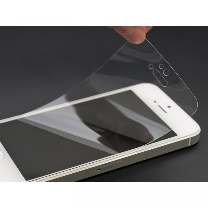衝撃吸収クリスタルフィルム iPhone SE/5s/5c/5