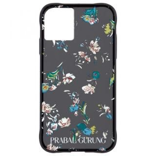iPhone 11 Pro Max ケース Case-Mate PRABAL GURUNG ケース Brush Stroke Black Floral iPhone 11 Pro Max