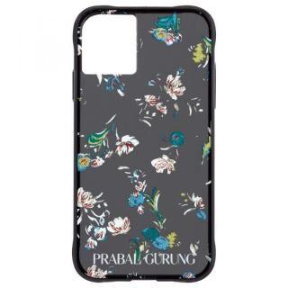 iPhone 11 ケース Case-Mate PRABAL GURUNG ケース Brush Stroke Black Floral iPhone 11
