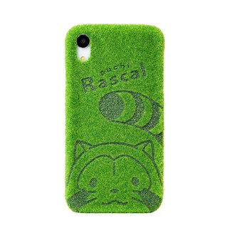 【iPhone XRケース】Shibaful × Rascal 背面ケース iPhone XR