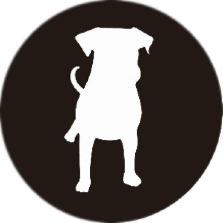 PopSockets Grip ポップソケッツ・グリップ Dog Silhouette_0