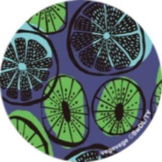 PopSockets Grip vegevege キウイ&ライム【9月下旬】
