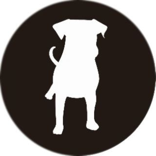 PopSockets Grip Dog Silhouette【9月下旬】