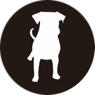PopSockets Grip Dog Silhouette
