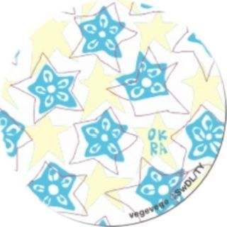 PopSockets Grip vegevege オクラ ホワイト【9月下旬】