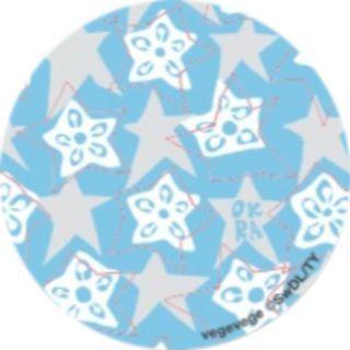 PopSockets Grip vegevege オクラ ライトブルー【9月下旬】