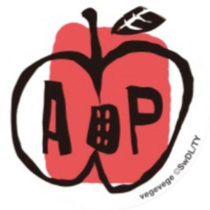 PopSockets Grip vegevege アップル_0