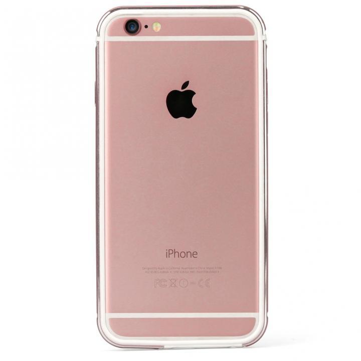 iPhone6s ケース FRAME x FRAMEバンパーケース ローズゴールド/ホワイト iPhone 6s/6_0