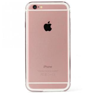 iPhone6s ケース FRAME x FRAMEバンパーケース ローズゴールド/ホワイト iPhone 6s/6