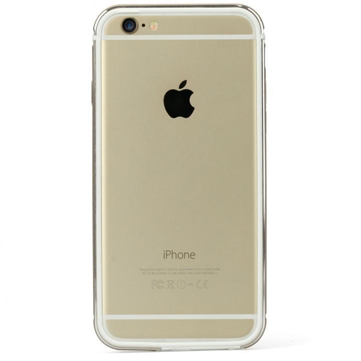 FRAME x FRAMEバンパーケース ゴールド/ホワイト iPhone 6s/6