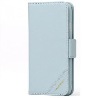 TUNEWEAR TUNEFOLIO TRAD 手帳型ケース ライトブルー iPhone 6s/6