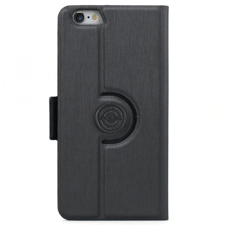 【iPhone6sケース】TUNEWEAR TUNEFOLIO 360 手帳型ケース グレイ iPhone 6s/6_0